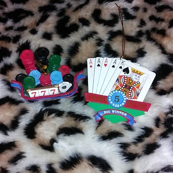 🎄 Poker/Casino Ornaments